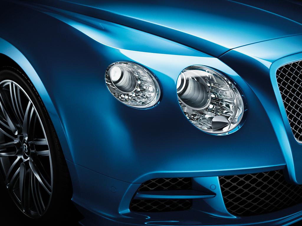 CGI Bentley Contintental GT front shot