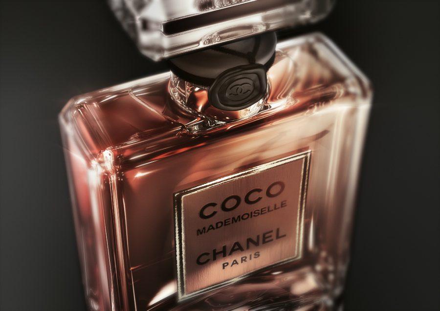 CHANEL COCO MADEMOISELLE CGI Perfume bottle