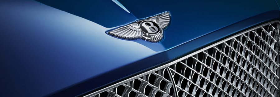 CGI Bentley Continental GT luxury car hood badge 4