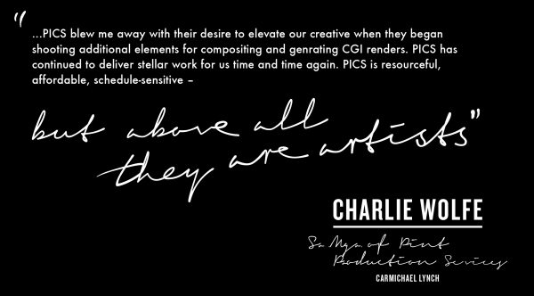 Charlie Wolf Carmichael Lynch Quote