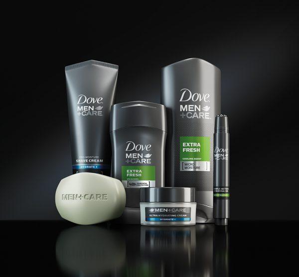 Dove Men +Care CGI Bottle Range