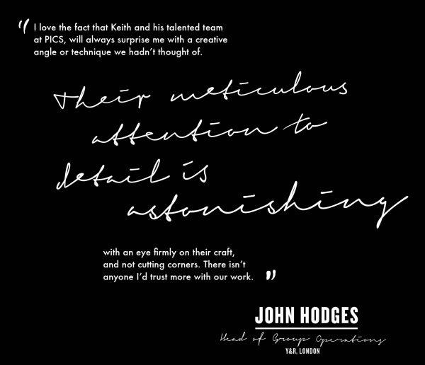 John Hodges Y&R London quote
