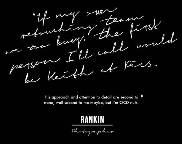 Rankin photographer quote