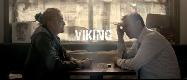 Retouched Viking movie thumbnail couple smoking indoors with covered windows
