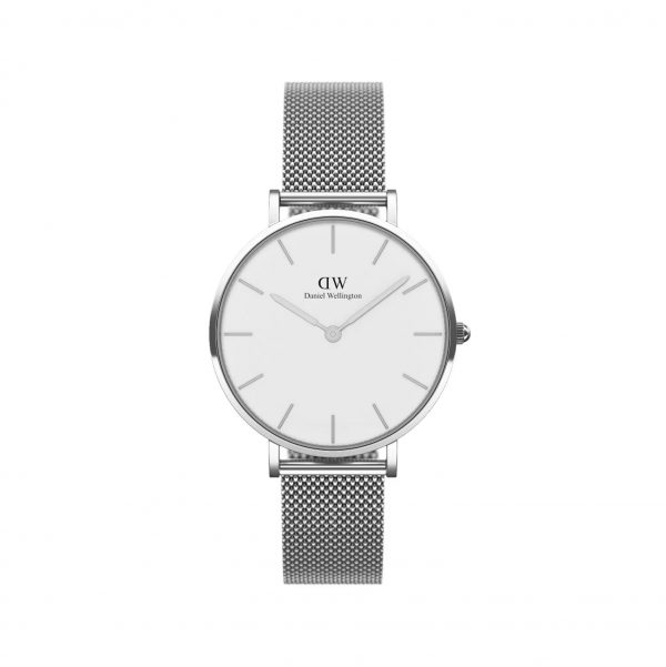 CGI Daniel wellington silver and white metal watch